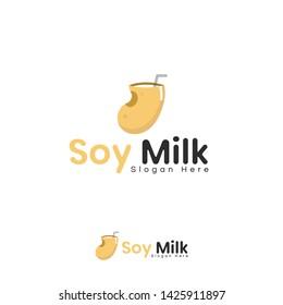 vector  logo soy milk ready to use