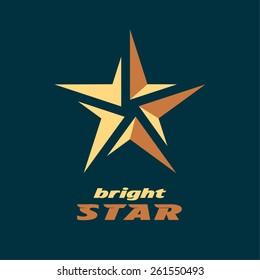 Vector Logo Of A Star