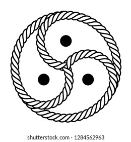 Vector logo / symbol BDSM