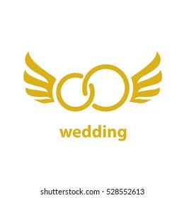 vector logo for wedding
