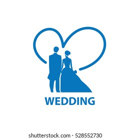 vector logo for wedding