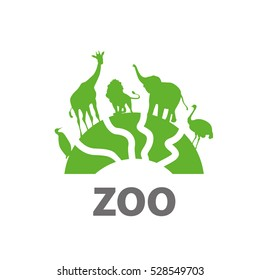 vector logo zoo