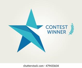 Vector Logotype For Contest Winner