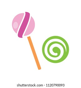 vector lollipop, lollipop vector candy - sweet symbol