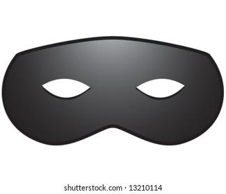 vector of lone ranger, superhero, or burglar mask