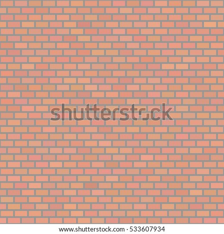 38f3ff6790 Vector Lopped Red Brick Texture Vector Stock Vector (Royalty Free ...