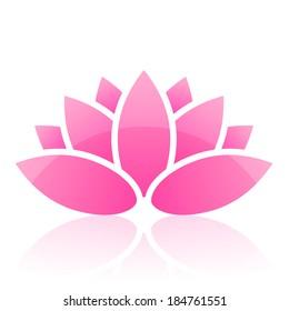 Vector lotus icon