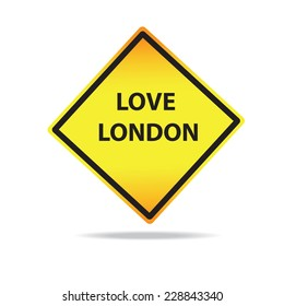 Vector Love London Sign [Set]