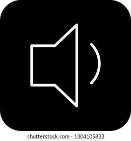 Vector Low Volume Icon