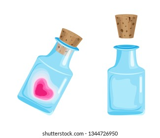 Vector lowe magic potion, great design for any purposes. Isolated vector sign symbol. Vector design concept.
