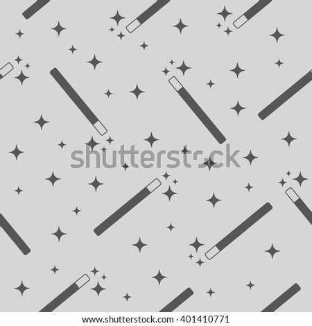 vector magic wand magic stars seamless stock vector royalty free