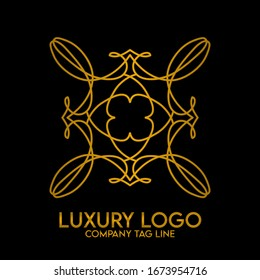 Vector Mandala Luxury Company Logo Design
