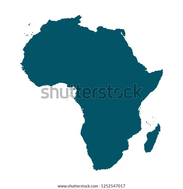 Map Of Africa Madagascar.Vector Map Africa Madagascar Stock Vector Royalty Free