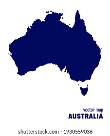 vector map of Australia. you can use it for any needs