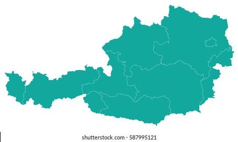 Landkarte Karnten Stock Illustrations Images Vectors Shutterstock