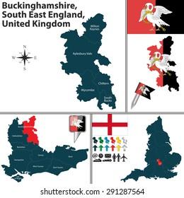 milton keynes uk map