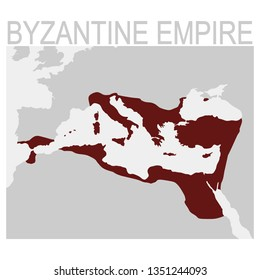 vector map of the byzantine empire
