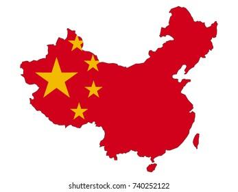 Vector map of China
