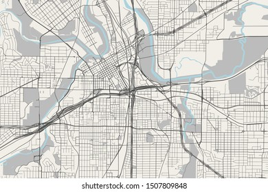 Usa Cities Map Images, Stock Photos & Vectors | Shutterstock