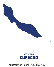 vector map of Curacao. you can use it for any needs