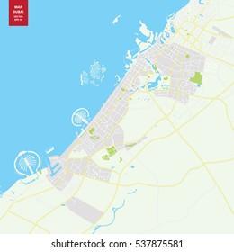 Dubai Maps Images, Stock Photos & Vectors | Shutterstock on