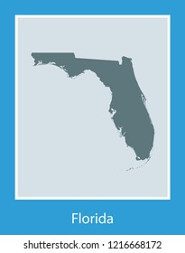 vector map of Florida