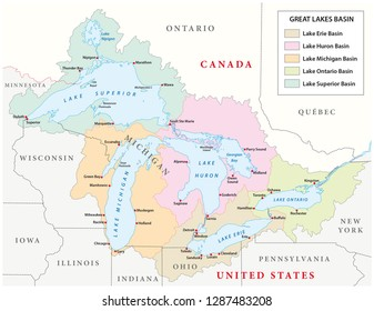 Lake Superior Canada Stock Vectors, Images & Vector Art ...