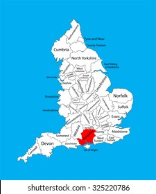 Map Of Uk Hampshire.East Hampshire Uk Images Stock Photos Vectors Shutterstock
