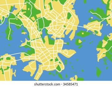 Helsinki Map Images Stock Photos Vectors Shutterstock