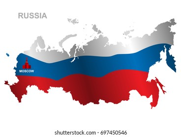Russia Map 3d Images Stock Photos Vectors Shutterstock