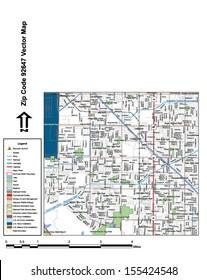 Huntington Park Zip Code Map.Huntington Park Stock Vectors Images Vector Art Shutterstock