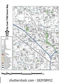 Houston Highway Map Stock Vectors Images Vector Art Shutterstock