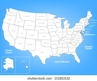 Southwest United States Map Images, Stock Photos & Vectors ...