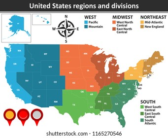 New England Usa Map Stock Vectors, Images & Vector Art ...