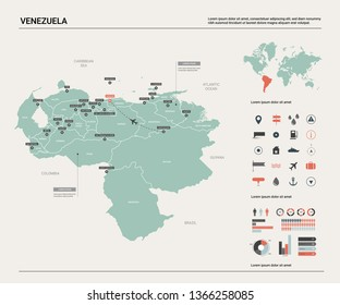 Caracas Map Images, Stock Photos & Vectors | Shutterstock on