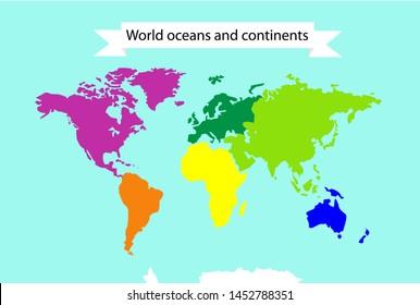 Dibujo Mapa Del Mundo Continentes.Ilustraciones Imagenes Y Vectores De Stock Sobre Mapa Del