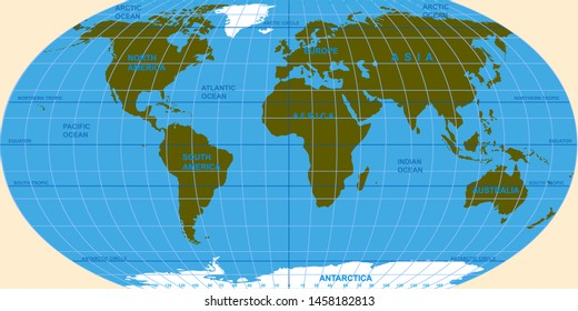 Equator On Globe Images, Stock Photos & Vectors | Shutterstock
