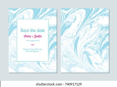 Vector marble abstract background. Liquid marble pattern. Trendy template for design, wedding, invitation, party, birthday, web, banner, card.