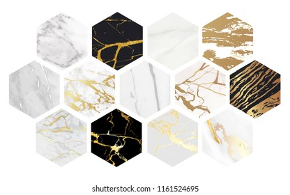 Vector Marble Background Collection, Luxury textures good for using at wallpaper, banner, wedding card and cover design template.