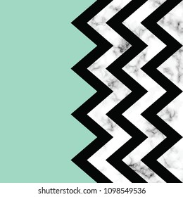Vector marble texture design with geometric shapes, black and white marbling surface, modern luxurious background, vector illustration