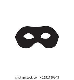 Vector masks of criminals, bandits and mafia