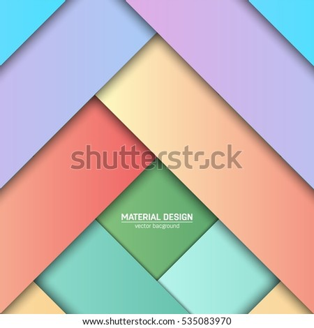 Vector Material Design Background Abstract Creative Stock