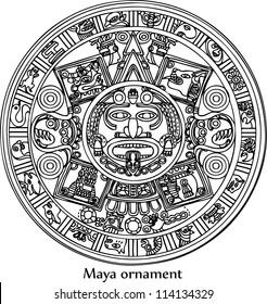 Calendario Azteca Vectores.Imagenes Fotos De Stock Y Vectores Sobre Calendario Azteca