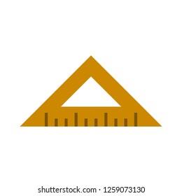 vector measurement ruler icon
