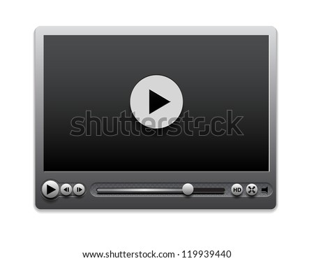 Vector media player interface