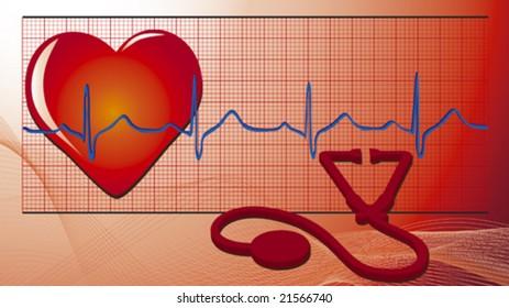 vector medical symbols/equipment