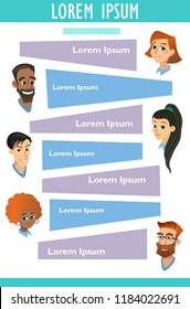 vector medicine brochure cards . lab template of flyear, magazine, poster, book cover, banner. Science people with medic concept background. illustration scientist modern