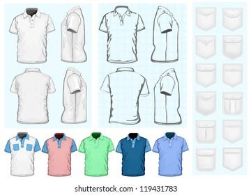 Imágenes Fotos De Stock Y Vectores Sobre Blue Shirt Front
