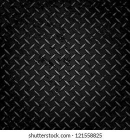 Vector Metal Grate Background