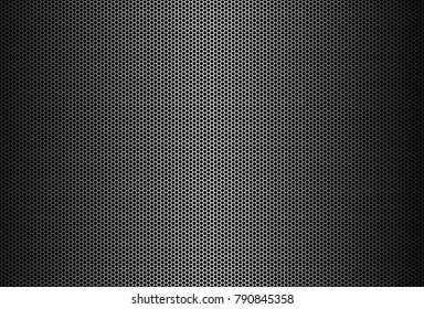 vector metal grid background, Metal background. Vector geometric pattern of hexagons